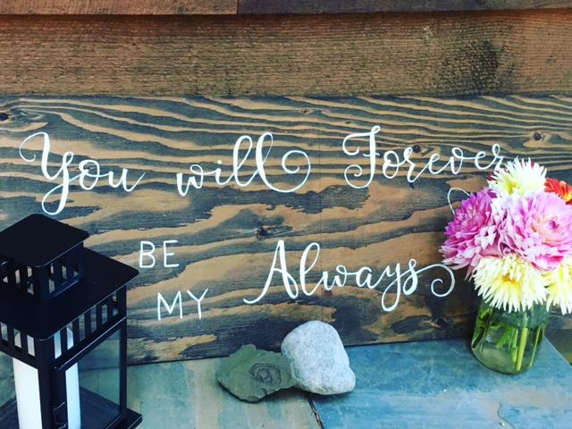 Wedding Signs!